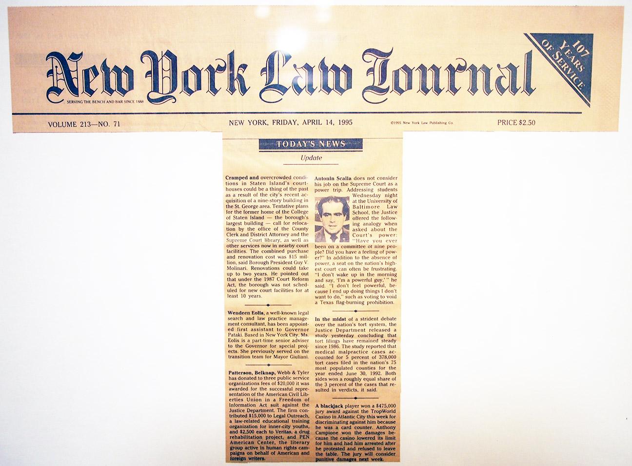 eolis-newyorklawjournal-april-1995