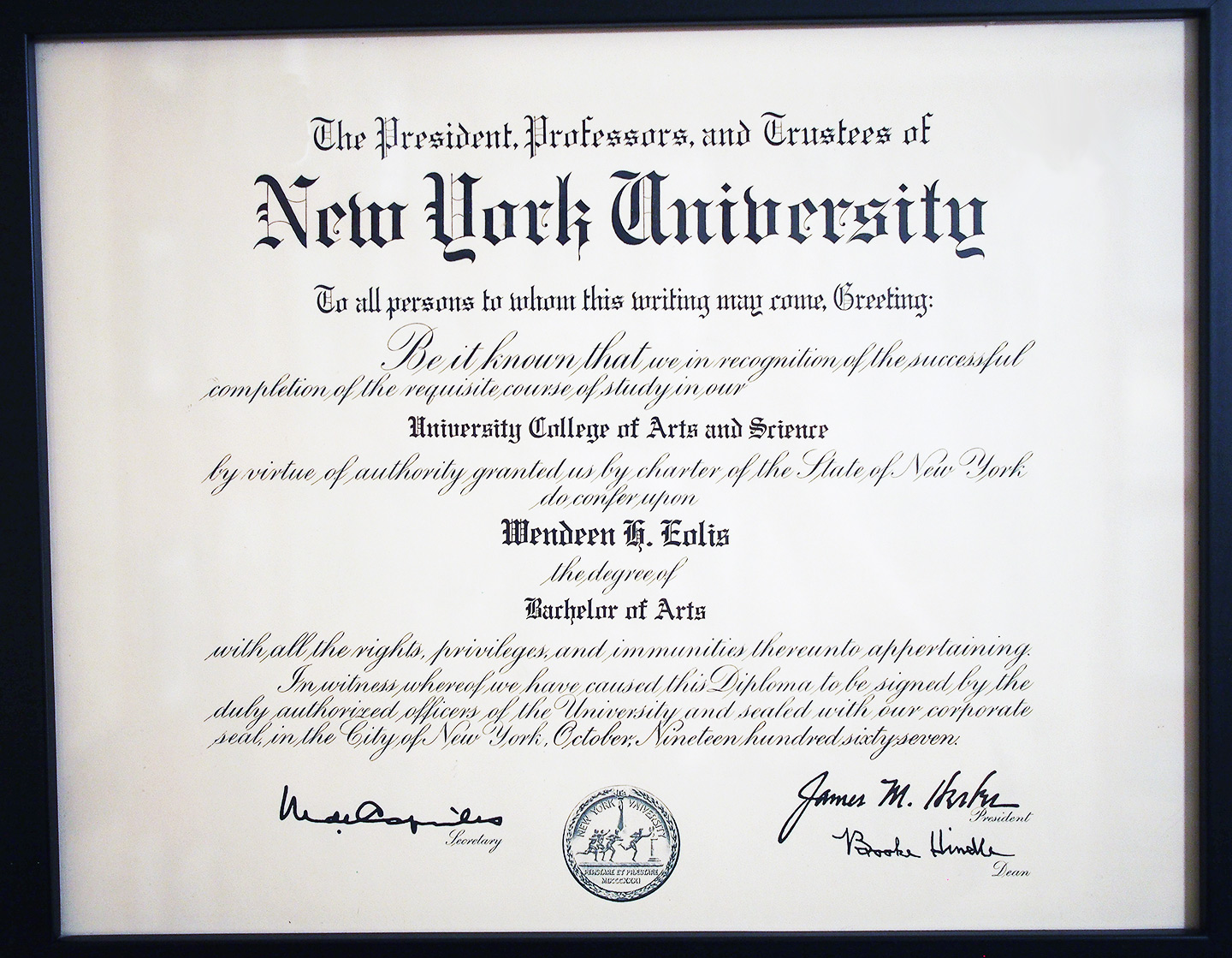 eolis-plaque-nyu-degree