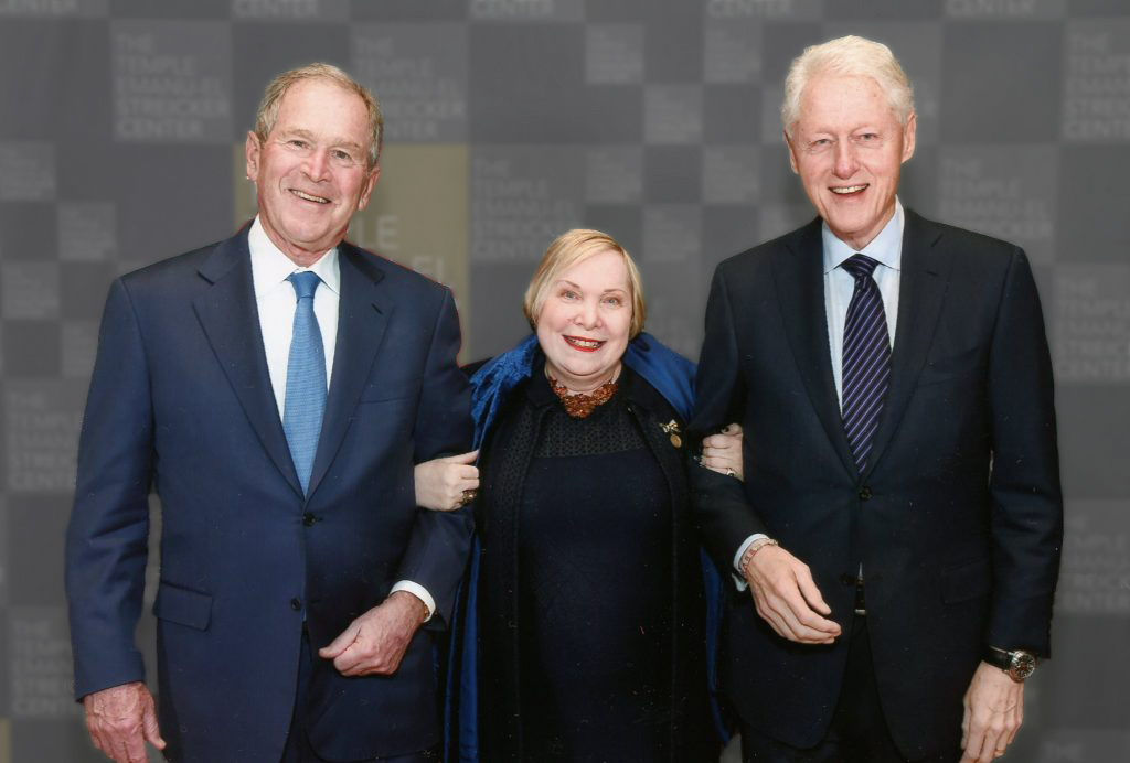 WHE w/ Clinton -Bush Duo
